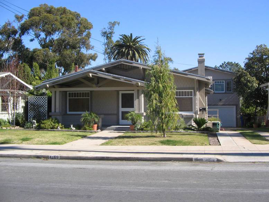 860 Irvin Security Company Spec House #1-Morris B. Irvin House -  4167-4169 Jackdaw Street