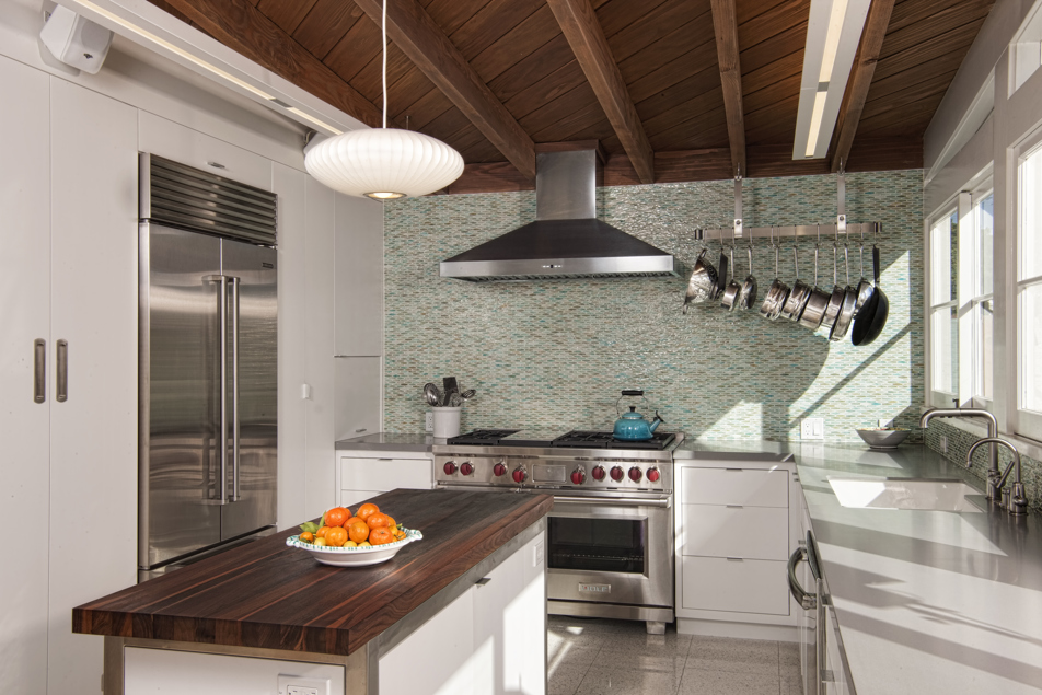MidCentury Modern Kitchen Remodel And Addition To At 48 William Amazing Kitchen Remodeling San Diego Set