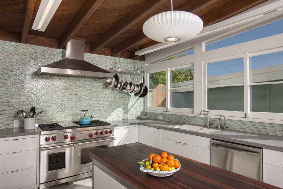 Mid-Century Modern Kitchen Remodel and Addition to at 1946 William ...