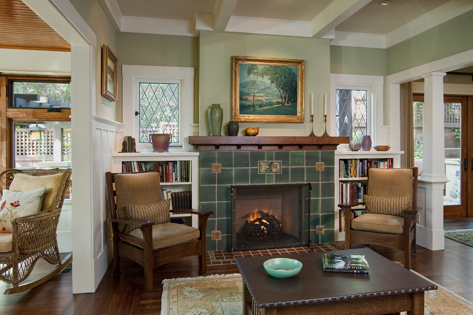 Masterful Craftsman Revival 1910 Is Architecture