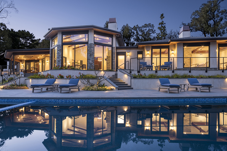 La Jolla, California; architectural photos of the Kao residence